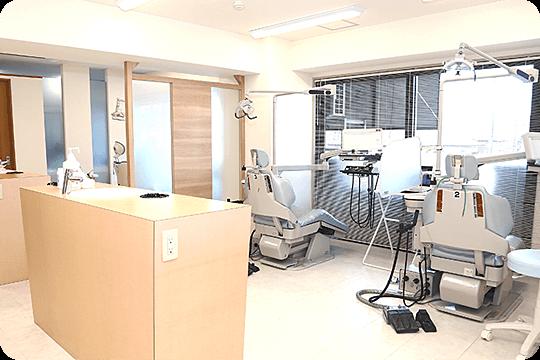 広々とした診察室